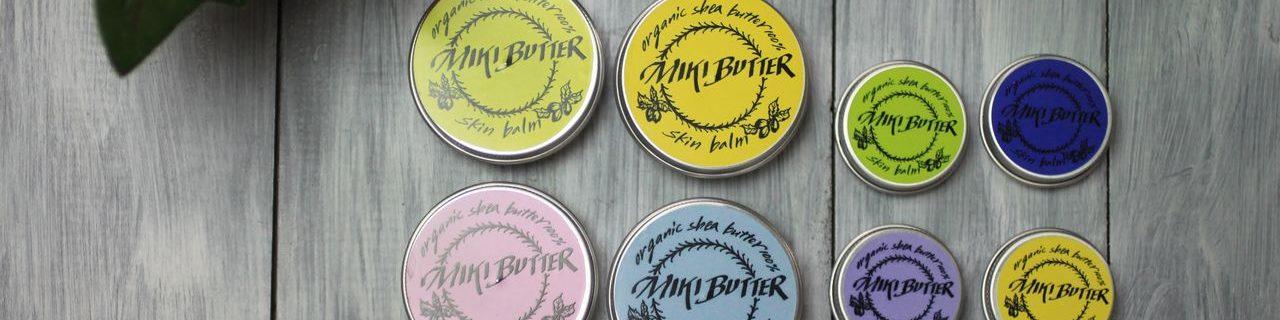 ミキバター商品のラインナップ